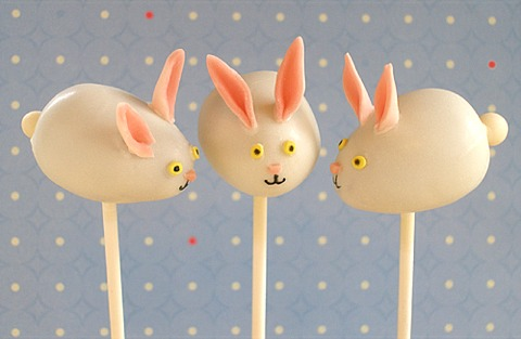Easter Bunny Cake Pops (Full Recipe)