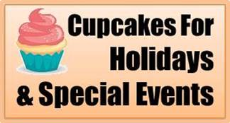 Cupcake Buttons Holidays