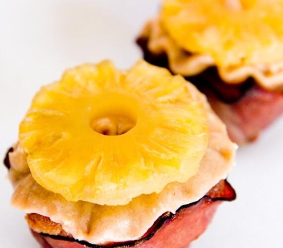 Honey Baked Ham Cupcakes & Detailed Recipe and Photos