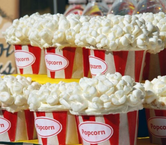 Pop Corn Cupcakes – Perfect for Movie Night & Sleep Overs [Recipe]